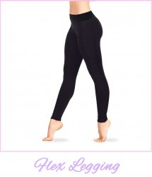 Flex Leggings aus Tactel